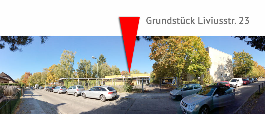 Grundstück Liviusstraße 23