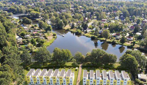 Oranienburg Vogelperspektive
